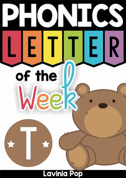 Phonics Letter of the Week T