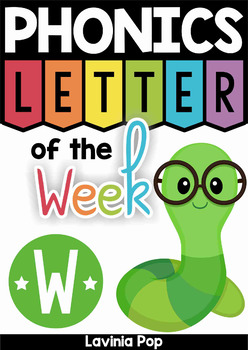 Phonics Letter of the Week W