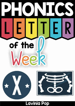 Phonics Letter of the Week X