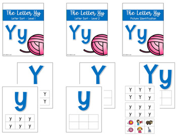 Phonics Letter of the Week - Yy