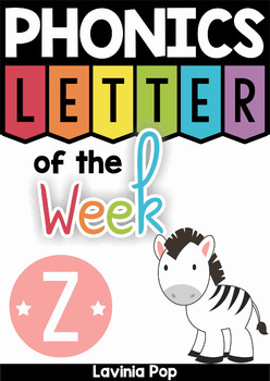 Phonics Letter of the Week Z