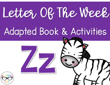 Phonics Letter of the Week - Zz