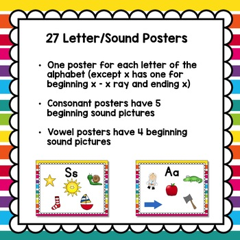 Beginning Sound Posters