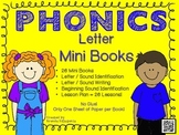 Phonics / Letters Mini Book Craft BUNDLE