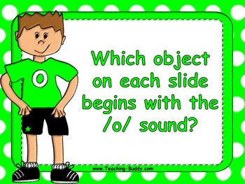 Phonics - Letters and Sounds - g, o, c, k