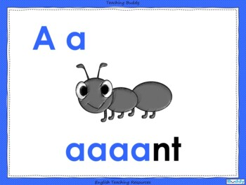 Phonics - Letters and Sounds - s, a, t, p