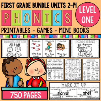 Phonics Level 1 Bundle