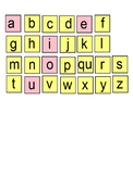 Phonics Level 1 Smart Board Letter Tiles