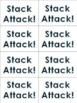 "Phonics Level 1 ""Stack Attack"" Card Games BUNDLE- 8 Games!"