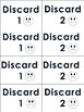 """Phonics Level 1 """"Stack Attack"""" Trick Word Game"""