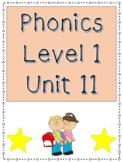 Phonics Level 1 Unit 11- v-e words, trick words