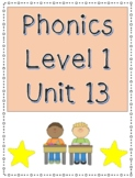 Phonics Level 1 Unit 13- suffix endings, trick words
