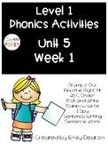Phonics Level 1 Unit 5