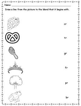 Phonics Level 1 Unit 8- blends, trick words