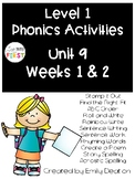 Phonics Level 1 Unit 9