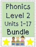 Phonics Level 2 Units 1-17 Activities BUNDLE