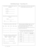 Phonics Library Activity Sheets ~ 2nd Grade ~ Theme 6 ~ Talent Show