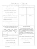 Phonics Library Activity Sheets ~ Grade 2 ~ Theme 4 ~ Amazing Animals