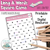 Phonics Long A Words Square Game