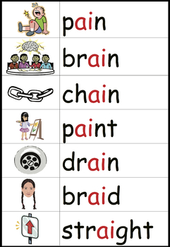 Phonics Word Wall: Long A