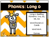 Phonics: Long o Spelling Patterns (o-e, oa, oe, ow)