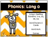 Phonics: Long o Spelling Patterns (o-e, oa, oe, ow)