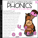 Phonics - Long O, U and E with Silent E - Reading Foundation with Phonics