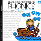 Phonics - Long O with OW, OA, and OE - Reading Foundational Skills