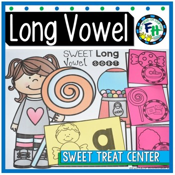 Phonics Long Vowel Center {Sweet Treat}