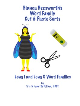 Word Sorts: Cut and Paste Long I & Long O Words (CCSS Aligned)