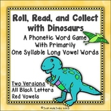 Phonics Word Game with Silent e and Vowel Digraph Patterns