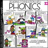 Phonics - Long Vowels - BUNDLE Vol. 2- Reading Foundation with Phonics