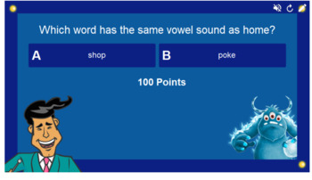 Phonics Long Vowels O, U, and E Smart Lab Interactive Whiteboard Activities
