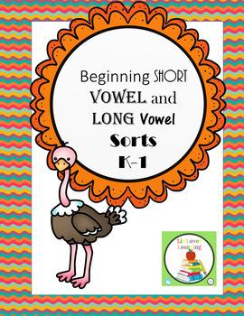 Phonics: Long and Short Vowel Sorts