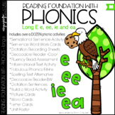 Phonics - Long e with EE, EA, and IE - Reading Foundationa