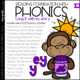 Phonics - Long e with EY and Y - Reading Foundational Skills