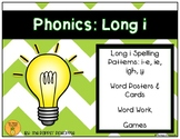 Phonics: Long i Spelling Patterns (i-e, ie, igh, y)