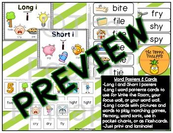 Phonics: Long i Spelling Patterns (i-e, ie, igh, y)