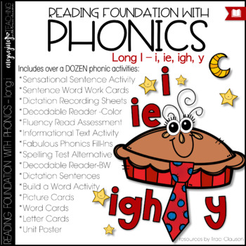 Phonics - Long i with IGH, IE, and Y - Reading Foundation with Phonics