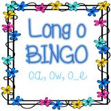 Phonics- Long o BINGO- oa, ow, o_e