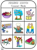 Phonics Lotto: Consonant Blends