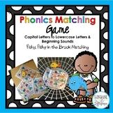 Alphabet Activities Phonics: Letter & Beginning Sound Matc