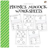 Phonics MDGOCK Worksheets
