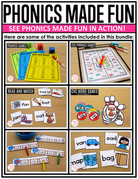 Phonics Made Fun Level A