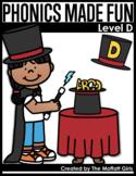 Phonics Made Fun Level D (CVCe Words)