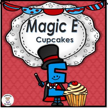 Phonics-Silent E - Magic E Cupcakes