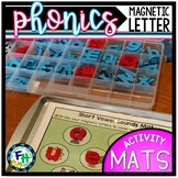 Phonics Magnetic Letter Activity Mats