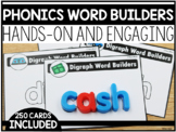 Phonics Magnetic Word Builder Cards