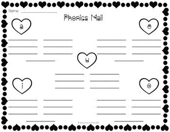 Phonics Mail - A Long Vowel Practice Game {FREEBIE}