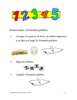 Phonics:  Making Words (English and Spanish)